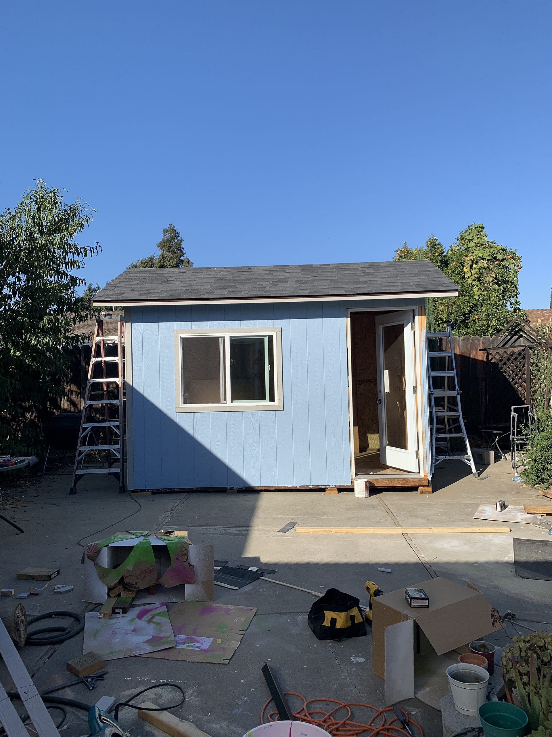 Shed Completed